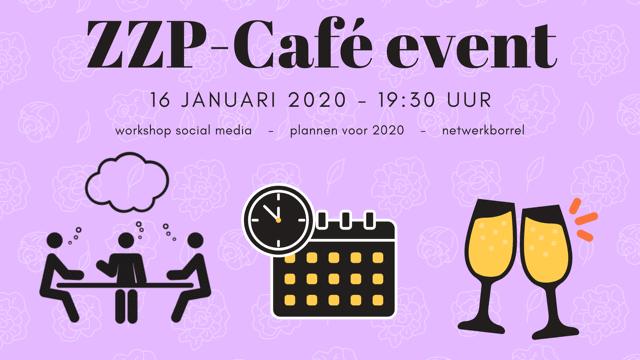 ZZP-Café event 16 jan 2020