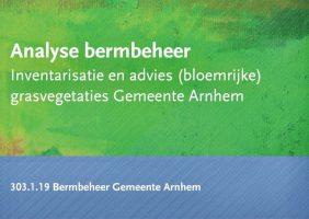 2019 12 12 Bermbeheer gemeente Arnhem 2019